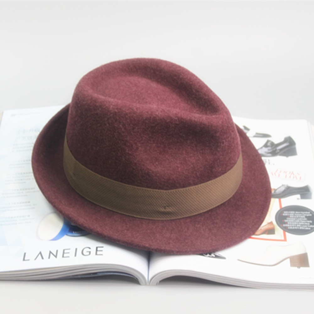 912020be55c7c8 High Quality Wool Felt European Fedora Hat For Men And Women - Buy ...