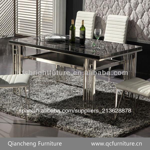 Muebles para el hogar moderno marco de acero inoxidable for Precios de muebles para el hogar