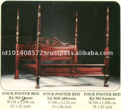 Antique Four Poster Bed, Antique Four Poster Bed Suppliers and ...