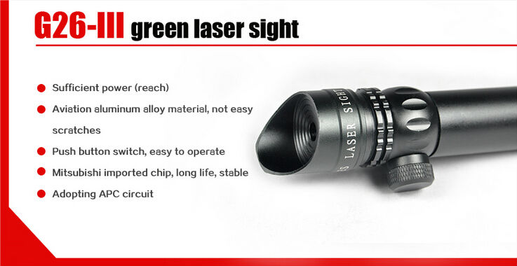 night vision 532nm green dot laser sighting telescope