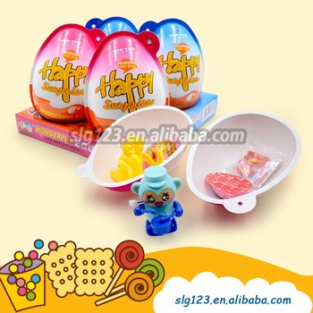 Delicious and fun Big Chocolate Surprise Egg Toy Candy