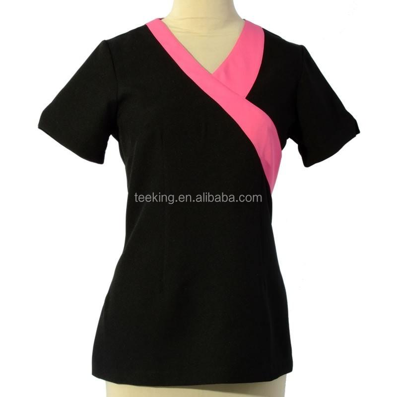 Factory manufacture beauty nail salon uniform buy salon for Uniform nail spa