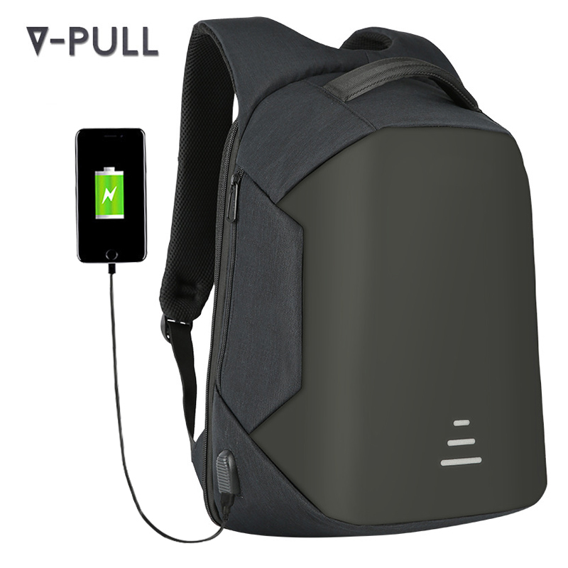 Anti-theft back pack 15.6 inch OEM fashion new laptop bag USB smart <strong>backpack</strong>