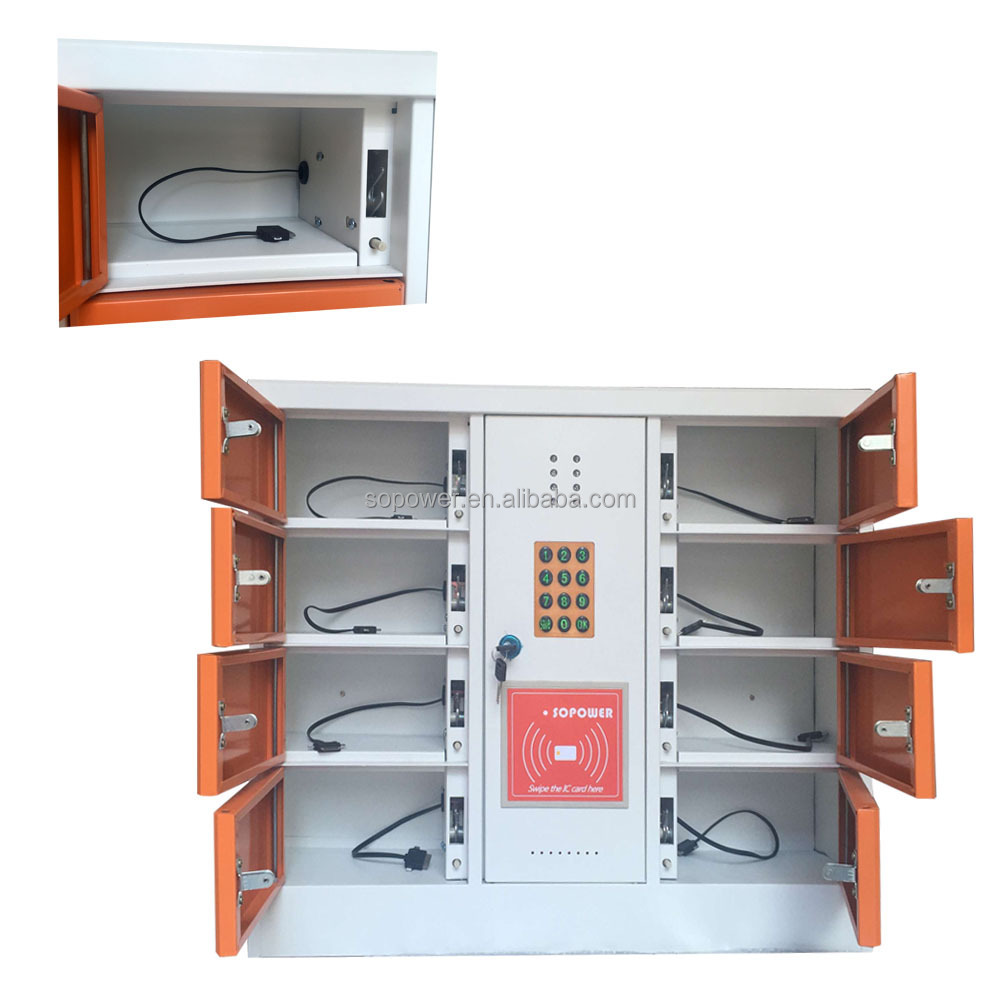 Electronic Lock With Unique Pin Number Charging Station