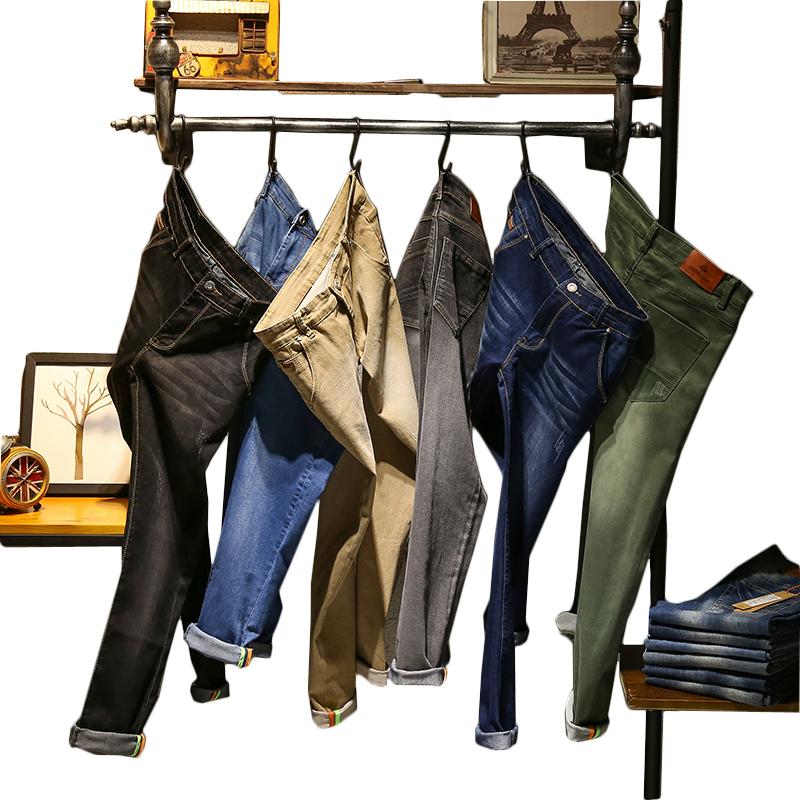bf6084bb5 Venta al por mayor men's slim jeans-Compre online los mejores men's ...