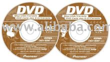 Pioneer CNDV-90MT East and West DVD Navigation Upgrade Disc AVIC N5 D3 N4