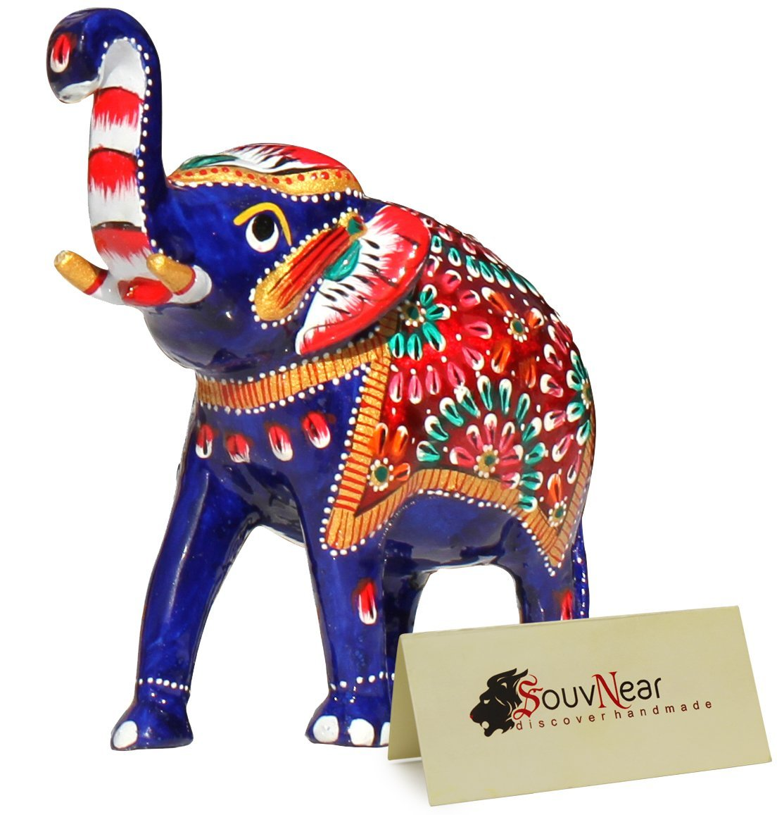Buy Clearance Sale Baby Elephant Decor Blue Decoration For Living