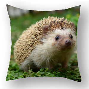 Excellent quality latest 3d animal design bed backrest plain blank sublimation cushion cover