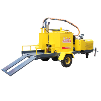 automated 350L filler and sealer highway crack road crack heating pavement road cleaning