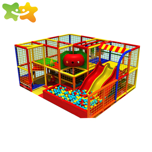 Cheap House Kids Ball Pit Pool Indoor Playground Rope Net Franchise Qingyuan