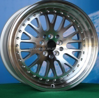 Wholesale price 15'' 16'' 17'' 18'' 3sdm replica alloy wheel Guangzhou factory rim HOT SALE alloy wheel 4/5/8/10 holes