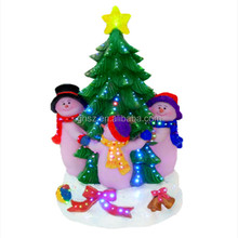 Fashionable christmas chirstmas tree with snow babies merry christmas 2014