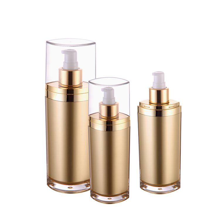 Luxury custom design cosmetic packaging unique 120ML lotion bottles
