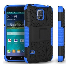Slim Armor Case for Samsung Galaxy S5 Mini Shockproof Case Hybrid Rubber Cover