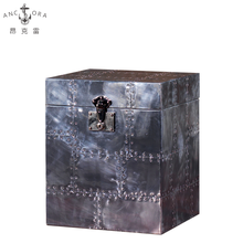 Hot Selling Home Decoration Storage Functional Metal Trunk Box L805