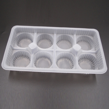 Plastic Cookie Tray For Packaging Biscuit Package Clear Blister Pet