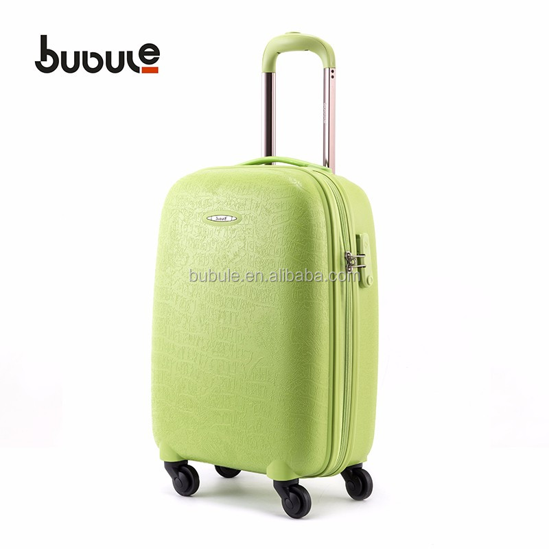 2017 NEW design royal polo luggage trolley case and used luggage suitcase for sale