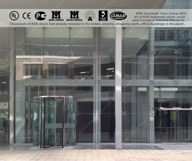 All Glass Revolving Door,Europe And America Standard,Tuv Iso9001 Ce Ul  Certificate,Newest Design,China Factory Price - Buy Revolving Door,All  Glass