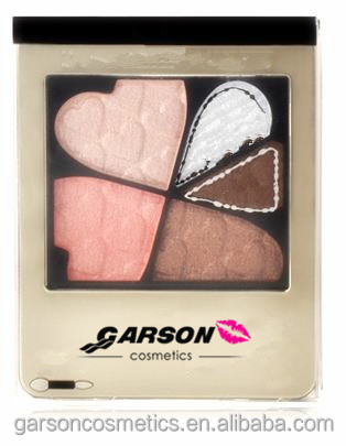 GARSON 5 colors the ground colors for choice long-lasting no shading waterproof shadow powder