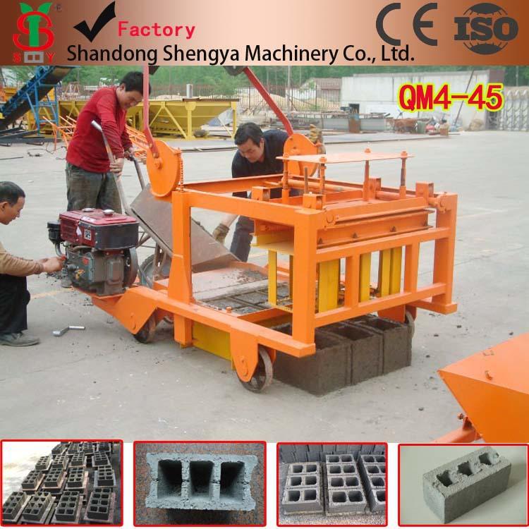 Cheap Price Brick Making Machine Price In Kenya Qtj4 40