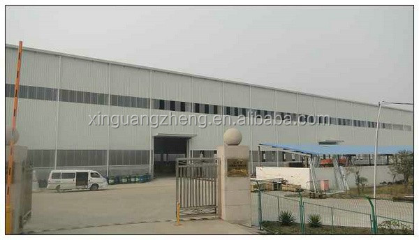 practical designed industry china modern light steel structure warehouse