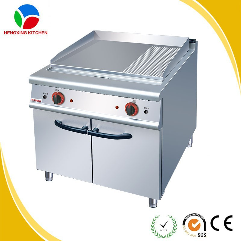 commercial flat griddle/stainless steel griddle/justa gas griddle for sale