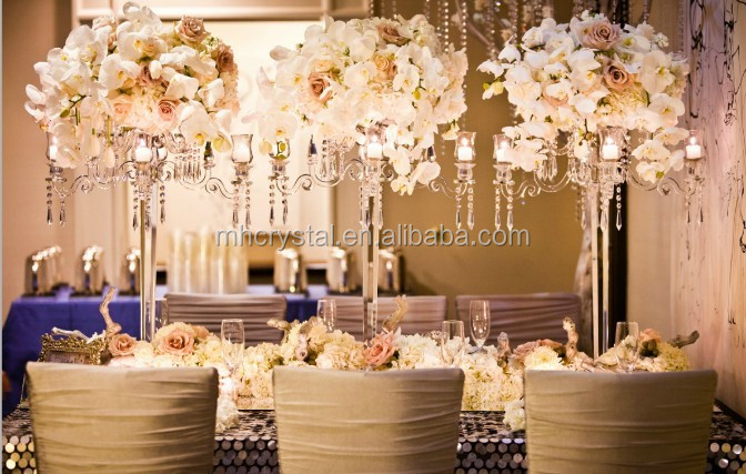wholesale decorations for weddings 86cm candelabra centerpieces mh 1339 4 1382