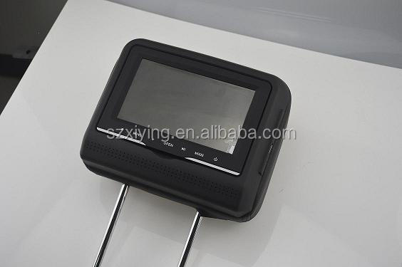 High Quality Car Headrest DVD with radio for cars
