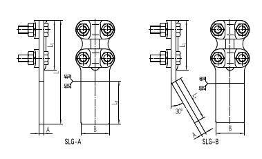 SLG terminal clamp bolted clamp electrical connection