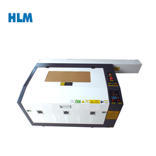 HLM4060 co2 rubber stamp laser engraving machine