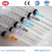 Hot sale medical supply 3cc 5cc 10cc medical injection disposable Syringe