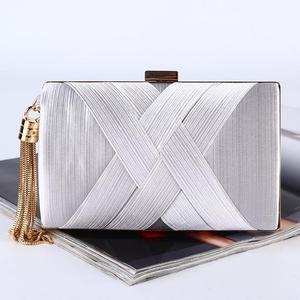colored Evening Bags and Clutches for Women silk Clutch Purse Wedding Party  Handbag 3f661aaa4b25e