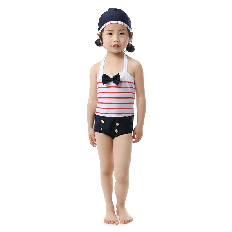 wholesales girls toddler baby swimsuit summer beach outfit girls one piece swimsuit