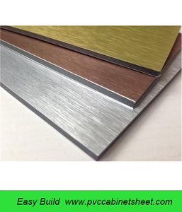 Supply exterior wall cladding alucobond sheet size 4'x8' aluminum composite panels