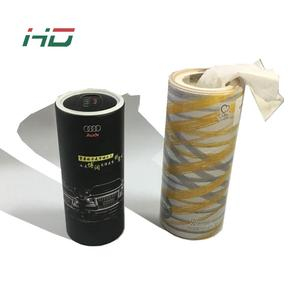 Cheap price custom print super soft 3ply 4ply car facial tissue tube tissue