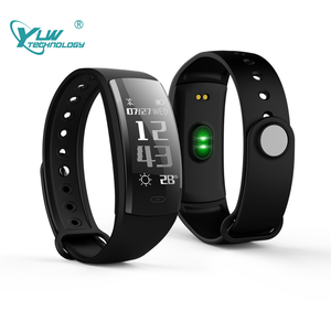 YLW OLED Touch Button QS90/BL14 Smart Bracelets BT 4.0 Wristband Call Reminder Sleep Monitoring Watch With Oxygen