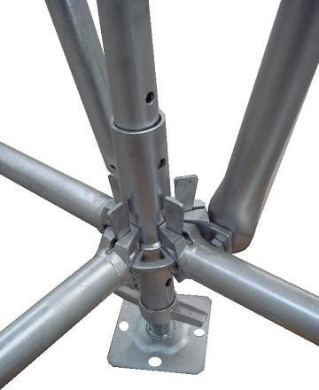 Échafaudage réglable Jambe Vis De Construction D'échafaudage Prises