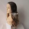 New Straight Human Hair Ombre Jewish Wig Hat Fall 24""