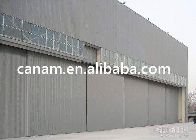 Steel structure price automatic sliding doors