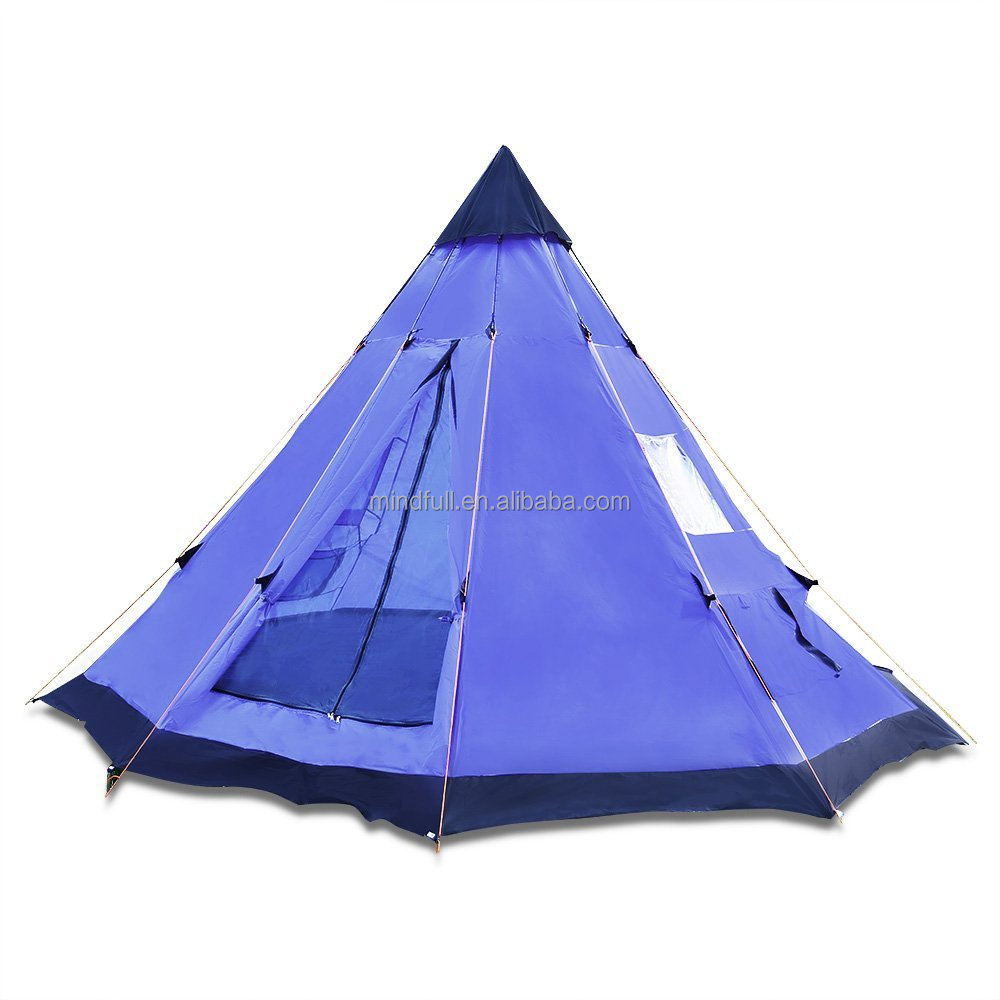 new arrival d2eea e8cee Wholesale Outdoor 10' X 10' Camping Teepee Tent Cone Shape Tent - Buy  Camping Tent,Outdoor Teepee Tent,Wholesale Teepee Tent Product on  Alibaba.com
