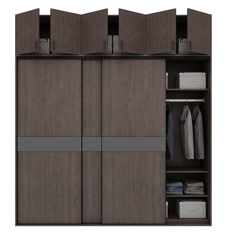 호주 스타일 현대 디자인 슬라이딩 침실 옷장
