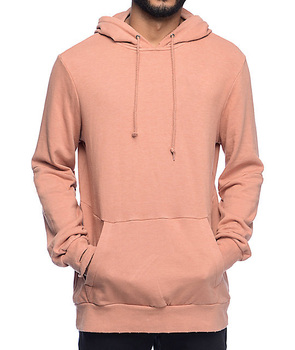fashion sports men's pullover 320 gsm pink hoodie with logo blank xxxxl gym fleece custom models hoodies multi color