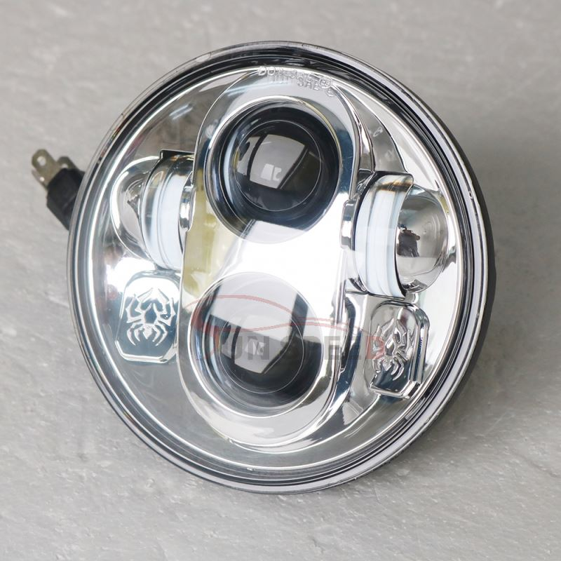 Zhongshan factory round hi lo beam 5.75 inch led headlight for offroad