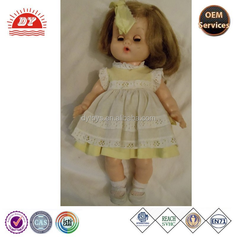 ICTI Factory Vintage Ginny Plastic Doll
