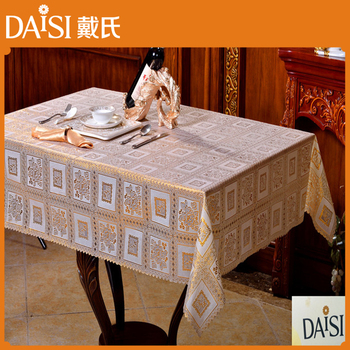 0f5c0b9781c Baratos toalhas de mesa de plástico em relevo rendas toalha de mesa de vinil