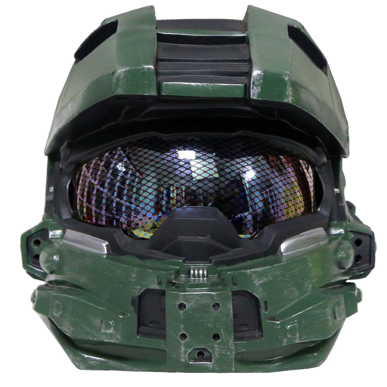 Halo 4 Master Chief Helmet Pepakura