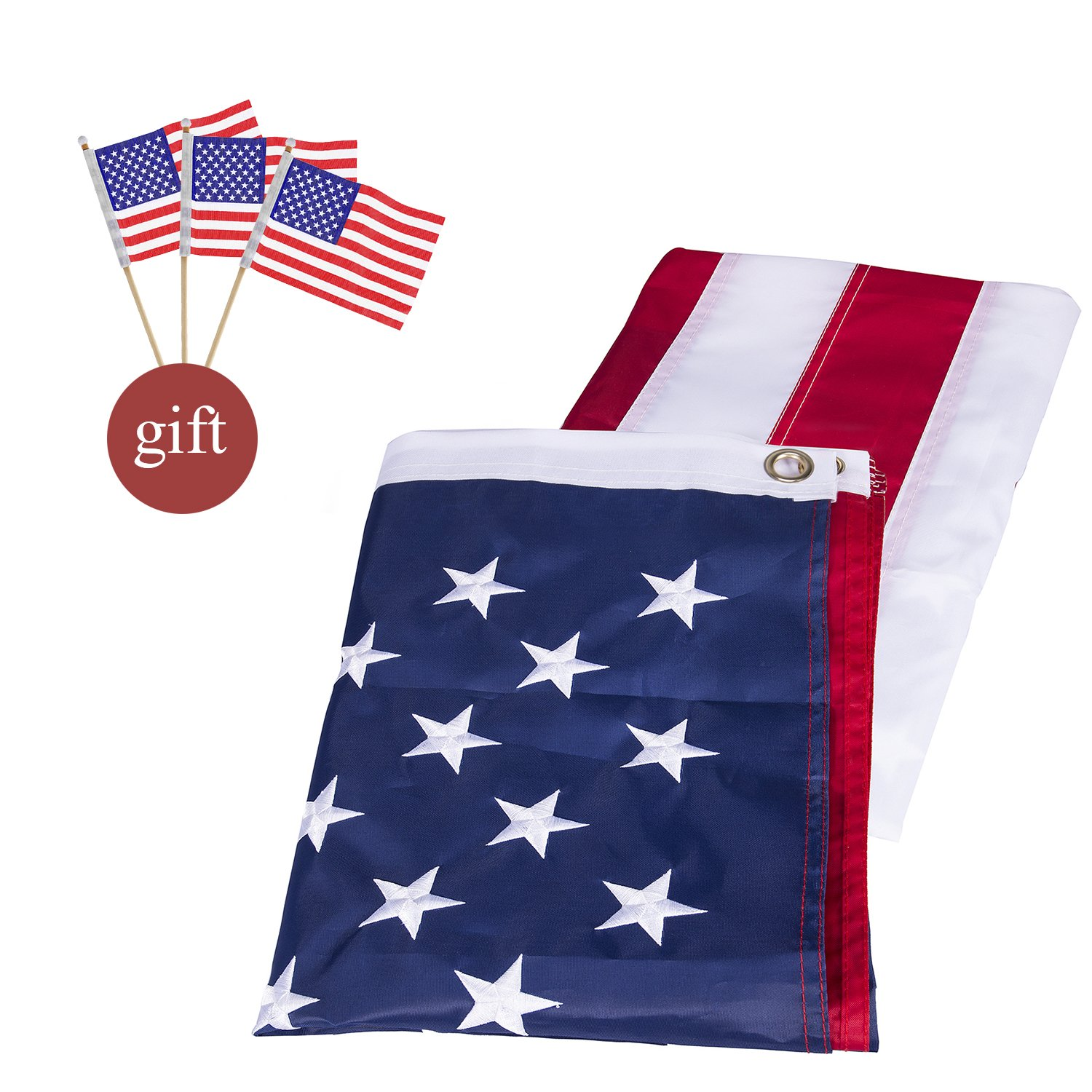 07c933c123df Get Quotations · Newever American Flags