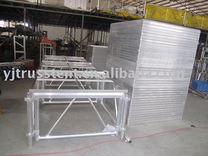 Glass Activities Stage(Export)1.22mx1.22m add together stage.assembles stage