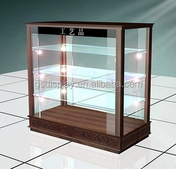 Retail Wood GLASS DISPLAY CABINETS