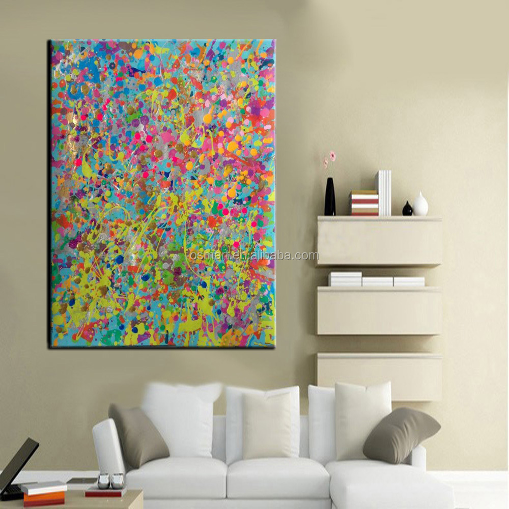 Modern Painting For Living Room High Quality Handmade Living Room Wall Decoration Abstract Seas